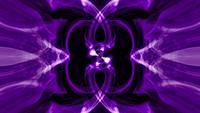 Abstrakte helle Neon-lila-ultraviolette psychedelische hypnotische Schleife