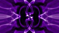 Abstract Bright Neon Purple-Ultraviolet Psychedelic Hypnotic Loop