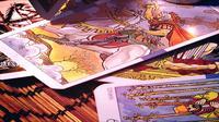 Cartes de tarot mystique