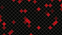 Abstract Red Squares