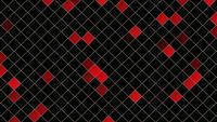 Carrés rouges abstraits