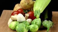 Mélange de légumes frais et délicieux