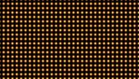 Numerous yellow light bulbs flicker around and look beautiful.