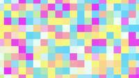 Geometrische Pixels Abstracte Achtergrond