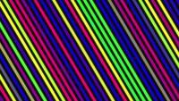 Lignes rétro dans le style des années 80