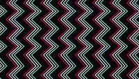 Retro abstract zig zag