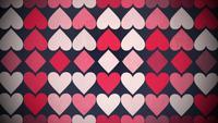 Fondo de corazones pequeños