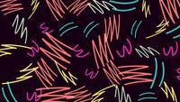 Memphis-stijl zigzag