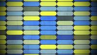 Geometrisches Regenbogenformmuster
