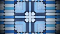 Mosaïque de forme géométrique