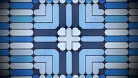 Geometrisches Formmosaik