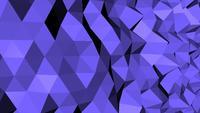 Modèle de polygone futuriste