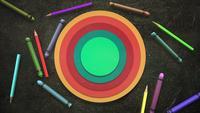 Lápices de colores para niños