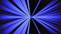 Blaue Linien im Glitch-Stil
