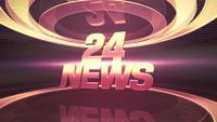 Texte Twenty Four News et graphique