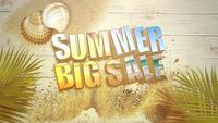 Text Sommer großer Verkauf