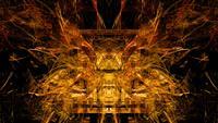 Fraktal form abstraktion