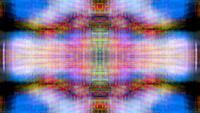 Fond de boucle kaléidoscope abstrait