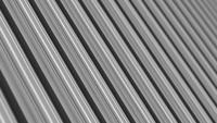 Motif sans fin de mouvement de boucle de rayures blanches gris noir