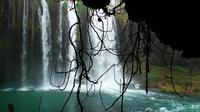Wasserfall im natürlichen Ort