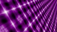 Abstracte futuristische digitale violette mozaïekanimatie met eindeloos patroon