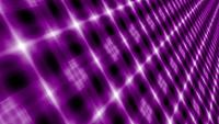 Abstrakte futuristische digitalviolette Mosaikanimation mit endlosem Muster