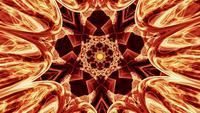 Looping Fantasy Energy Mandala Pattern