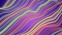 Colorful Wavy Lines in Background