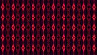 Fond hypnotique kaléidoscopique rouge