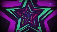 Stjärna Retro 90-tal färgrik bakgrund