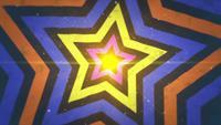 Fond de mouvement Star Retro 90s