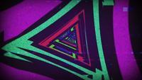 Fond de triangle rétro des années 90