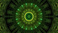 Mouvement fractal de conception abstraite