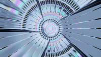 Disco ilusorio en movimiento ascendente