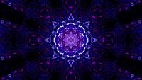 Mosaico de efecto multicolor mágico