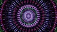 Túnel de Levitação Vibrante Multicolorido