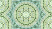 Transition multicolore du passage polygonal