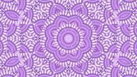 Arrangement de l'illusion de mouvement abstrait