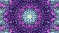 Portal caleidoscópico vibrante cintilante