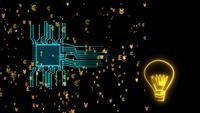 Överföringsvaluta för digital chipprocessor