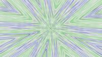 Abstract Sketched Kalleidoscope Background Video