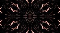 Abstrakt neonkalejdoskop