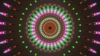 Colorido com espiral de tom de terra