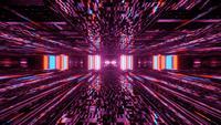 Particolored Flashing Cyber Spark 4k uhd 3d rendering vj loop