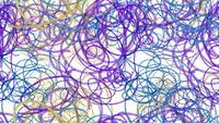 Lápiz de dibujo abstracto
