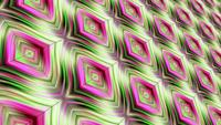 Looping pink green fantasy art contemporary style matrix