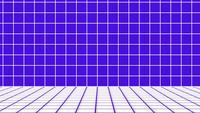 Retro stijl 1980. Abstracte sci-fi achtergrond van het patroonnet