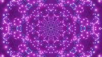 DJ loop 3d ilustración estrella kalaidoscope patrón geometría mandala