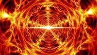 Túnel de Vórtice de Distorção de Tempo de Energia de Fogo em Espiral
