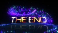 The End 4K 3D Animated Magical Cinematic Titel